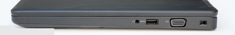 لپتاپ استوک Dell مدل Latitude 5480 پورت های راست