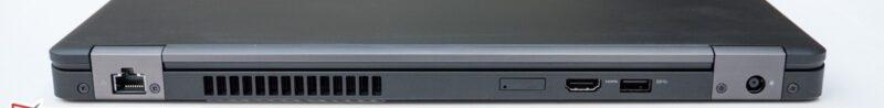 لپتاپ استوک Dell مدل Latitude 5480 پورت های پشت