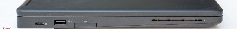 لپتاپ استوک Dell مدل Latitude 5480 پورت های چپ