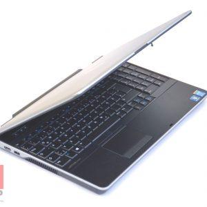 لپتاپ استوک Dell مدل Latitude E6540 نیمه باز رو به رو