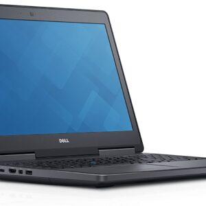 لپتاپ استوک Dell مدل Precision 7510 i7 نمای چپ