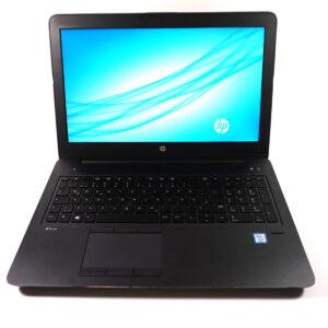 لپتاپ استوک HP مدل ZBook 15 G3 مقابل ۲