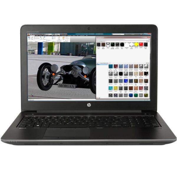 لپتاپ استوک HP مدل ZBook 15 G3 مقابل
