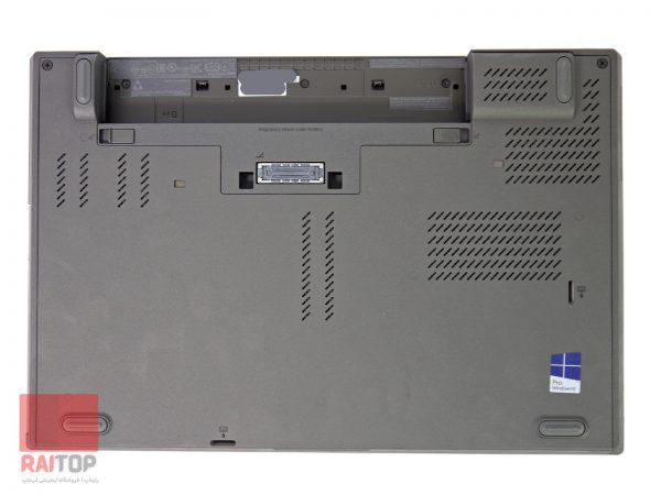 لپتاپ استوک Lenovo مدل ThinkPad T440p قاب زیر