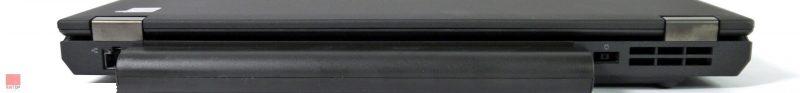 لپتاپ استوک Lenovo مدل ThinkPad T440p پورت های پشت