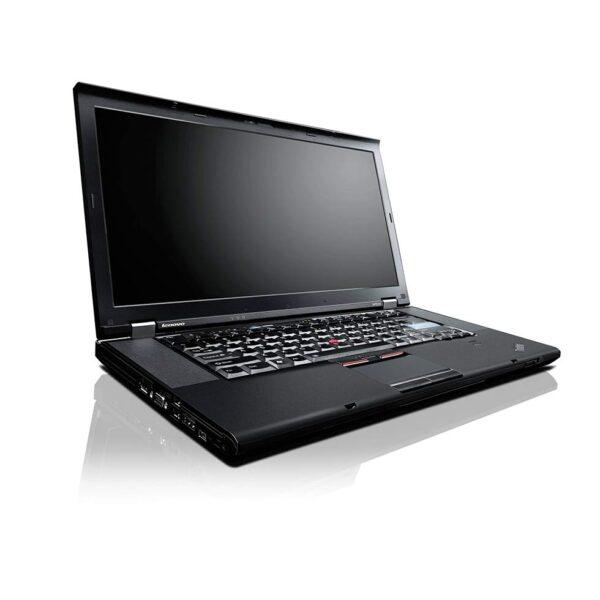 لپتاپ استوک Lenovo مدل ThinkPad W520 نمای مقابل به چپ