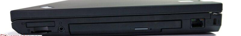 لپتاپ استوک Lenovo مدل ThinkPad W530 پورت های راست