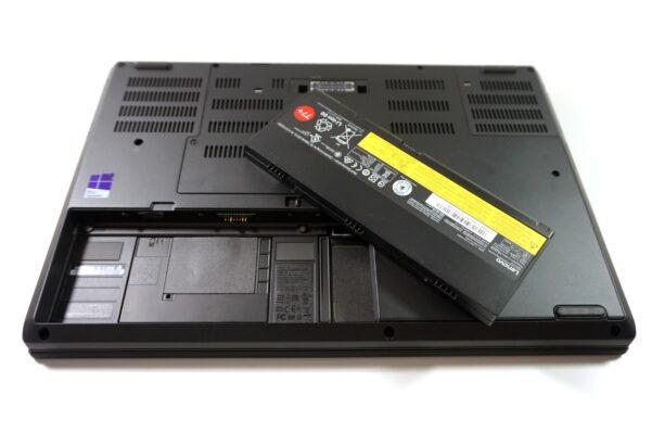 لپ تاپ 15 اینچی Lenovo مدل ThinkPad P50 باتری