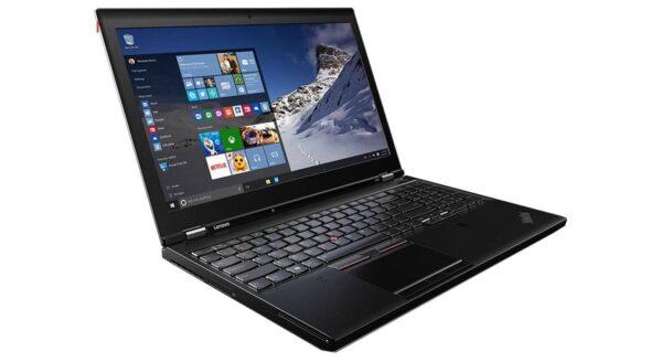 لپ تاپ 15 اینچی Lenovo مدل ThinkPad P50 جنب چپ
