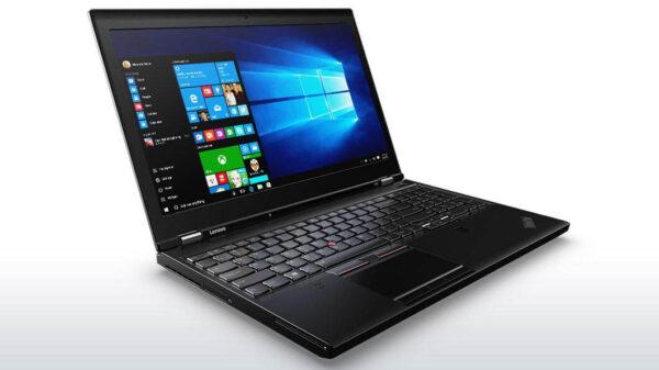لپ تاپ 15 اینچی Lenovo مدل ThinkPad P50 مقابل