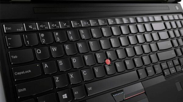 لپ تاپ 15 اینچی Lenovo مدل ThinkPad P50 کاور - صفحه کلید