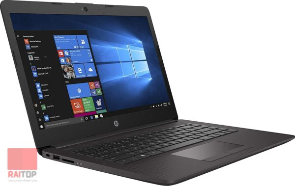 لپتاپ استوک HP مدل 245 G7 از چپ