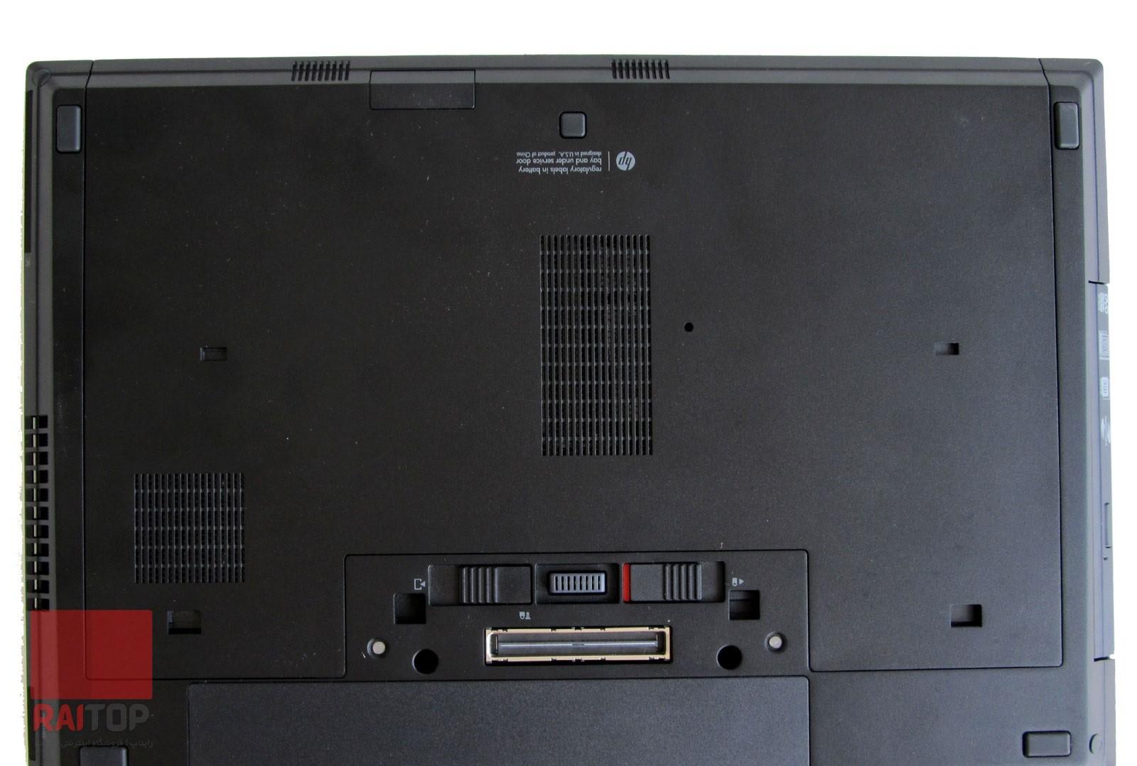 لپتاپ استوک HP مدل EliteBook 8560p i7 قاب زیرین