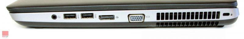 استوک HP مدل ProBook 650 G1 i7 پورت های راست1 | لپتاپ استوک HP مدل ProBook 650 G1 i7