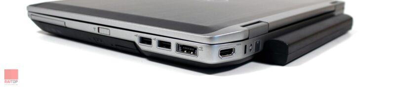 لپ تاپ استوک Dell مدل Latitude E6420 i7 پورت های راست