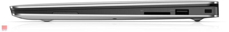 لپ تاپ استوک Dell مدل XPS 9360 پورت های راست