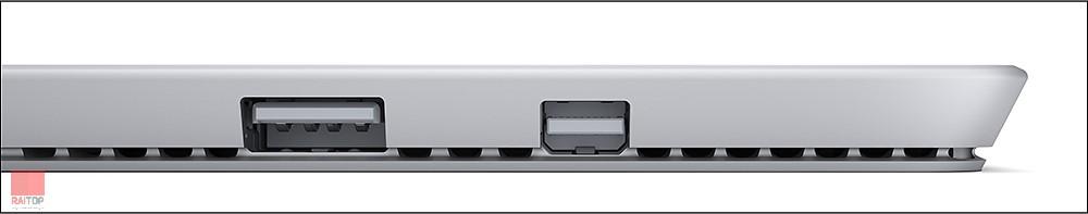 تبلت استوک مایکروسافت مدل Surface Pro 3 به همراه کیبورد ظرفیت 256 گیگابایت پورت ۲