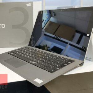 تبلت استوک مایکروسافت مدل Surface Pro 3 به همراه کیبورد ظرفیت 256 گیگابایت