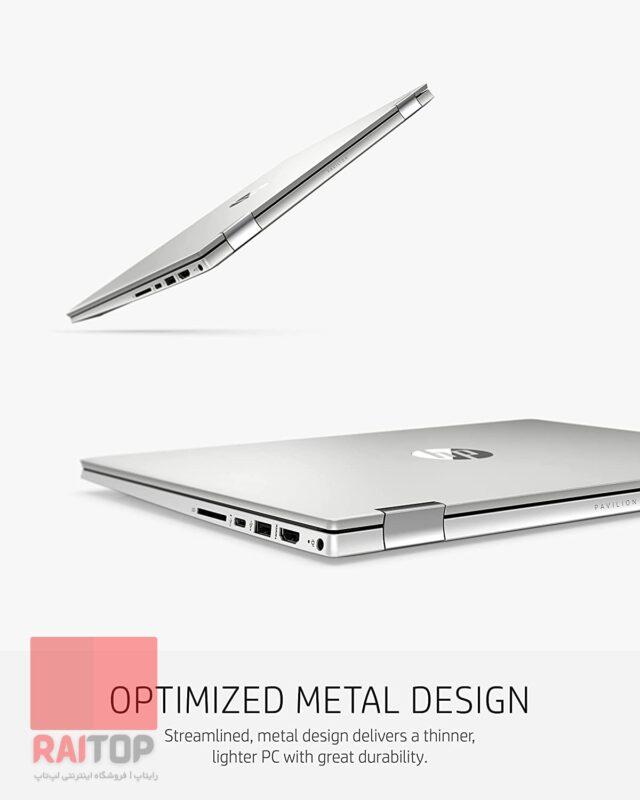 لپ تاپ استوک قابل تبدیل 14 اینچی HP مدل Pavilion x360 14-dw1 طراحی