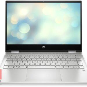 لپ تاپ استوک قابل تبدیل 14 اینچی HP مدل Pavilion x360 14-dw1 مقابل