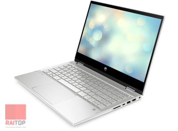 لپ تاپ استوک قابل تبدیل 14 اینچی HP مدل Pavilion x360 14-dw1 نمای راست