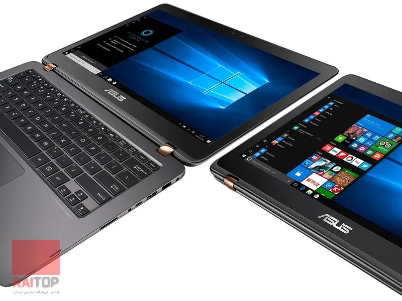 لپ تاپ استوک 13 اینچی ASUS مدل ZenBook Flip UX360UAK حالت ها