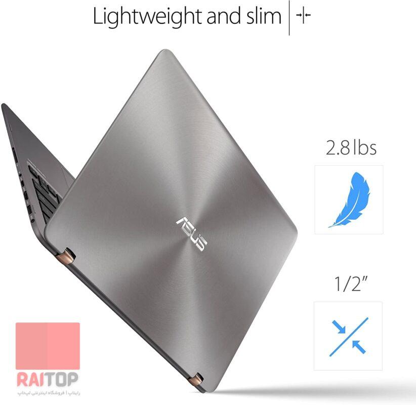لپ تاپ استوک 13 اینچی ASUS مدل ZenBook Flip UX360UAK وزن