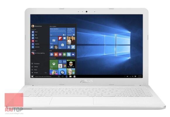 لپ تاپ استوک 15 اینچی ASUS مدل X540LJ سفید مقابل