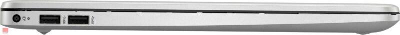 لپ تاپ استوک 15 اینچی HP مدل 15s-eq0 پورت های چپ