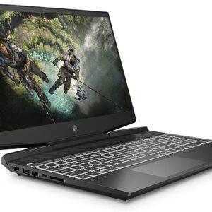 لپ تاپ استوک 15 اینچی HP مدل Pavilion Gaming 15-DK1 از چپ
