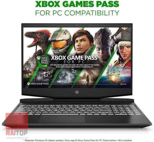 لپ تاپ استوک 15 اینچی HP مدل Pavilion Gaming 15-DK1 مقابل