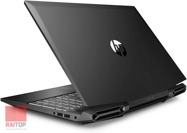 لپ تاپ استوک 15 اینچی HP مدل Pavilion Gaming 15-DK1 پشت نیمه باز
