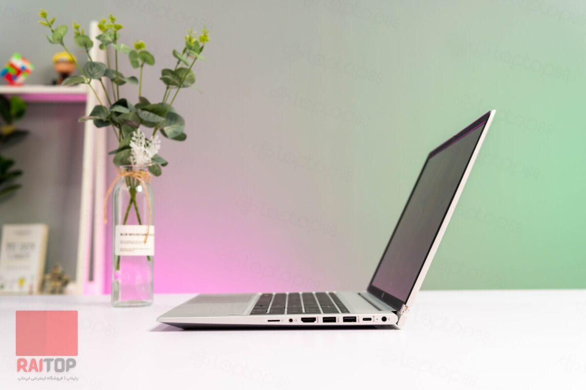 لپ تاپ استوک 15 اینچی HP مدل ProBook 455 G8 راست ۱