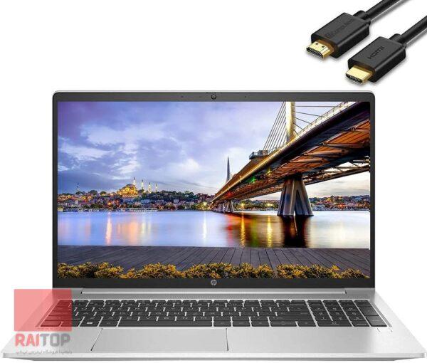 لپ تاپ استوک 15 اینچی HP مدل ProBook 455 G8 مقابل hdmi