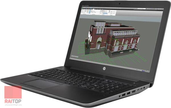 لپ تاپ استوک 15 اینچی HP مدل ZBook 15 Studio G3 راست