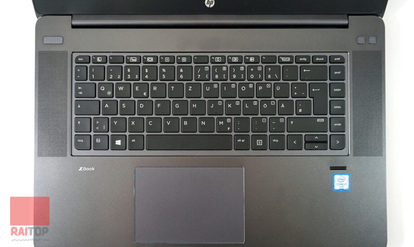 لپ تاپ استوک 15 اینچی HP مدل ZBook 15 Studio G3 صفحه کلید ۱