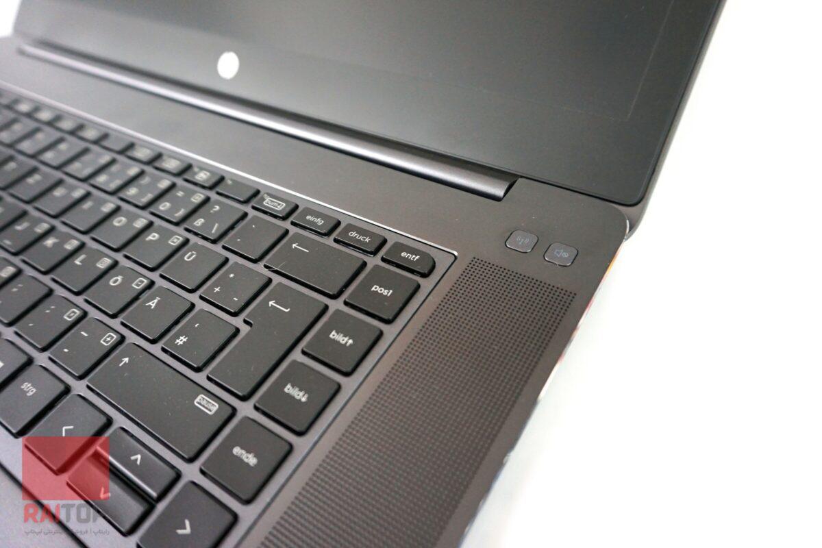 لپ تاپ استوک 15 اینچی HP مدل ZBook 15 Studio G3 صفحه کلید