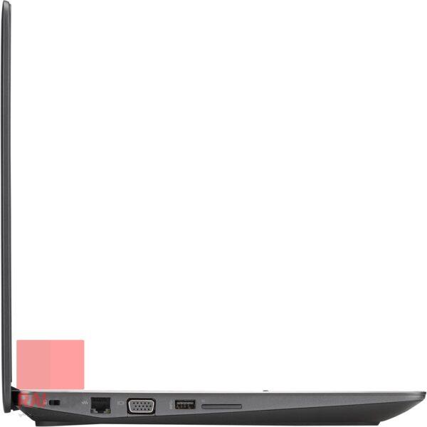 لپ تاپ استوک 15 اینچی HP مدل ZBook 15 Studio G3 پورت های چپ