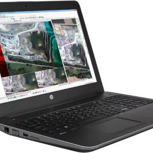 لپ تاپ استوک 15 اینچی HP مدل ZBook 15 Studio G3 چپ