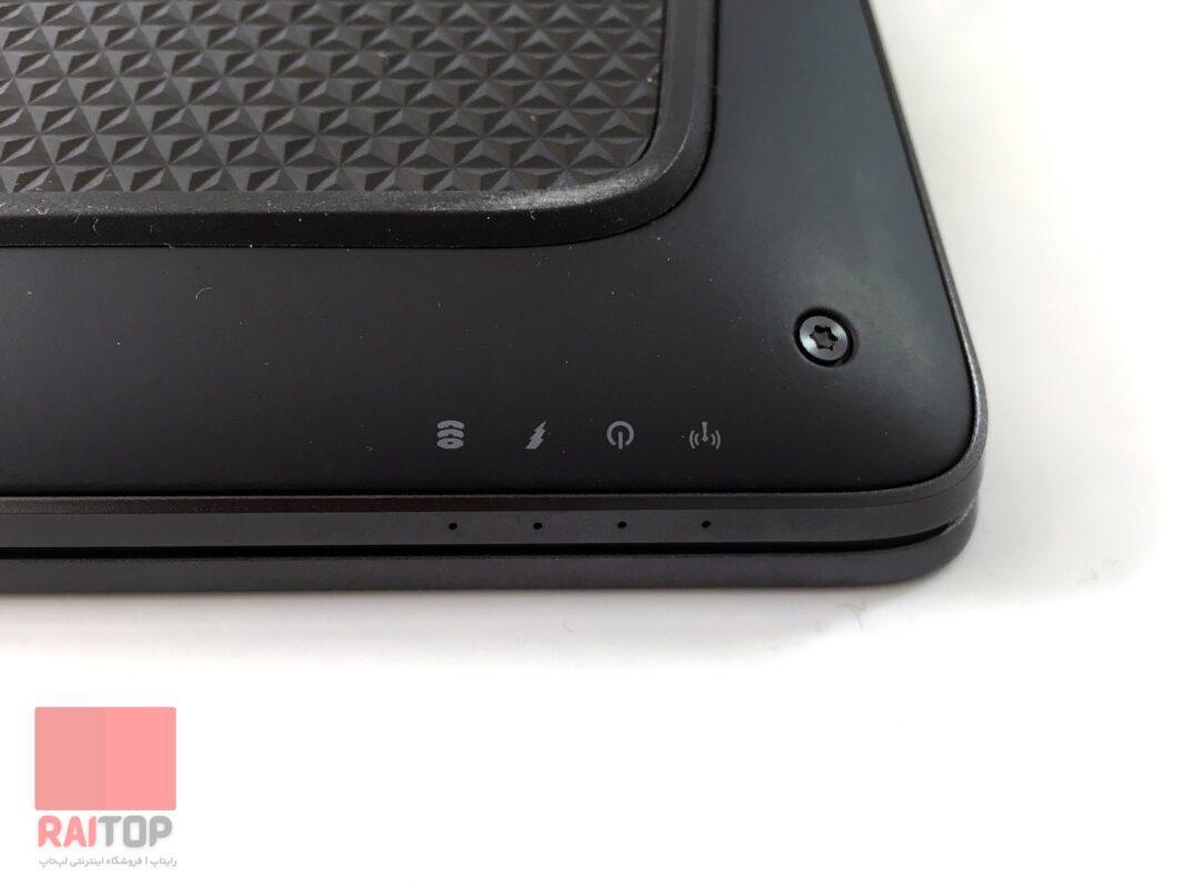 لپ تاپ استوک 15 اینچی HP مدل ZBook 15 Studio G3 led وضعیت