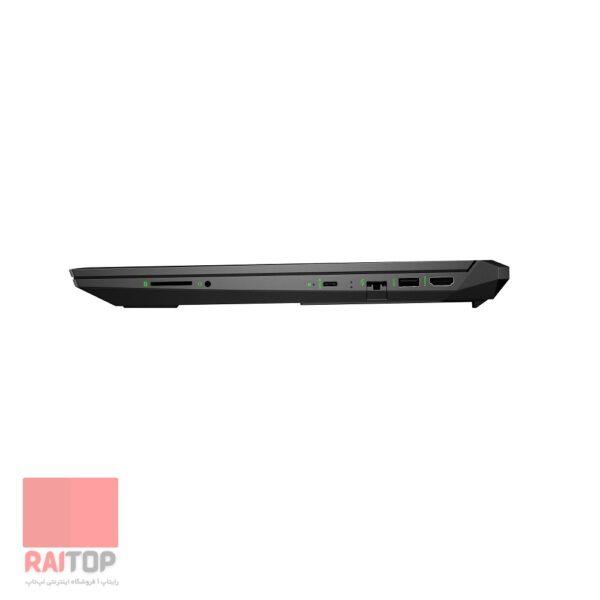 لپ تاپ استوک 15.6 اینچی اچ پی مدل Pavilion Gaming Laptop EC-1007NE پورت های راست
