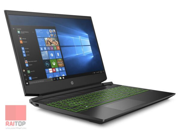 لپ تاپ استوک 15.6 اینچی اچ پی مدل Pavilion Gaming Laptop EC-1007NE چپ