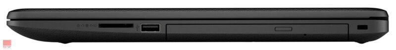 لپ تاپ استوک 17 اینچی HP مدل 17-by0 پورت های راست