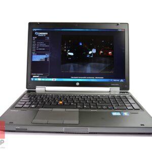 لپ تاپ استوک HP مدل EliteBook 8570w رو به رو