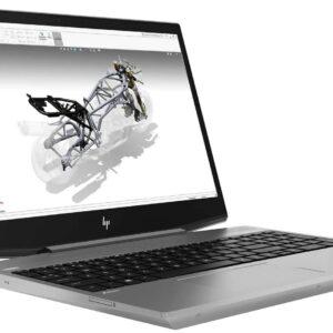 لپ تاپ استوک HP مدل ZBook 15v G5 از چپ