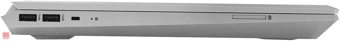 لپ تاپ استوک HP مدل ZBook 15v G5 پورت های چپ
