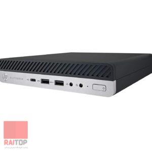 مینی کیس استوک HP مدل EliteDesk 800 G5 i7 به همراه ماوس و کیبرد اچپی راست