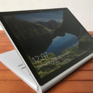تبلت استوک 13 اینچی مایکروسافت مدل Surface Book 2 باز