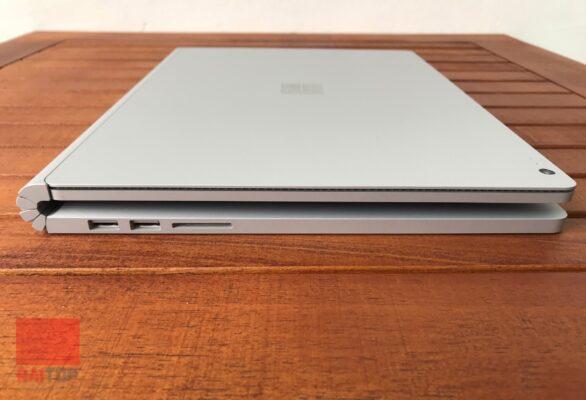 تبلت استوک 13 اینچی مایکروسافت مدل Surface Book 2 بسته