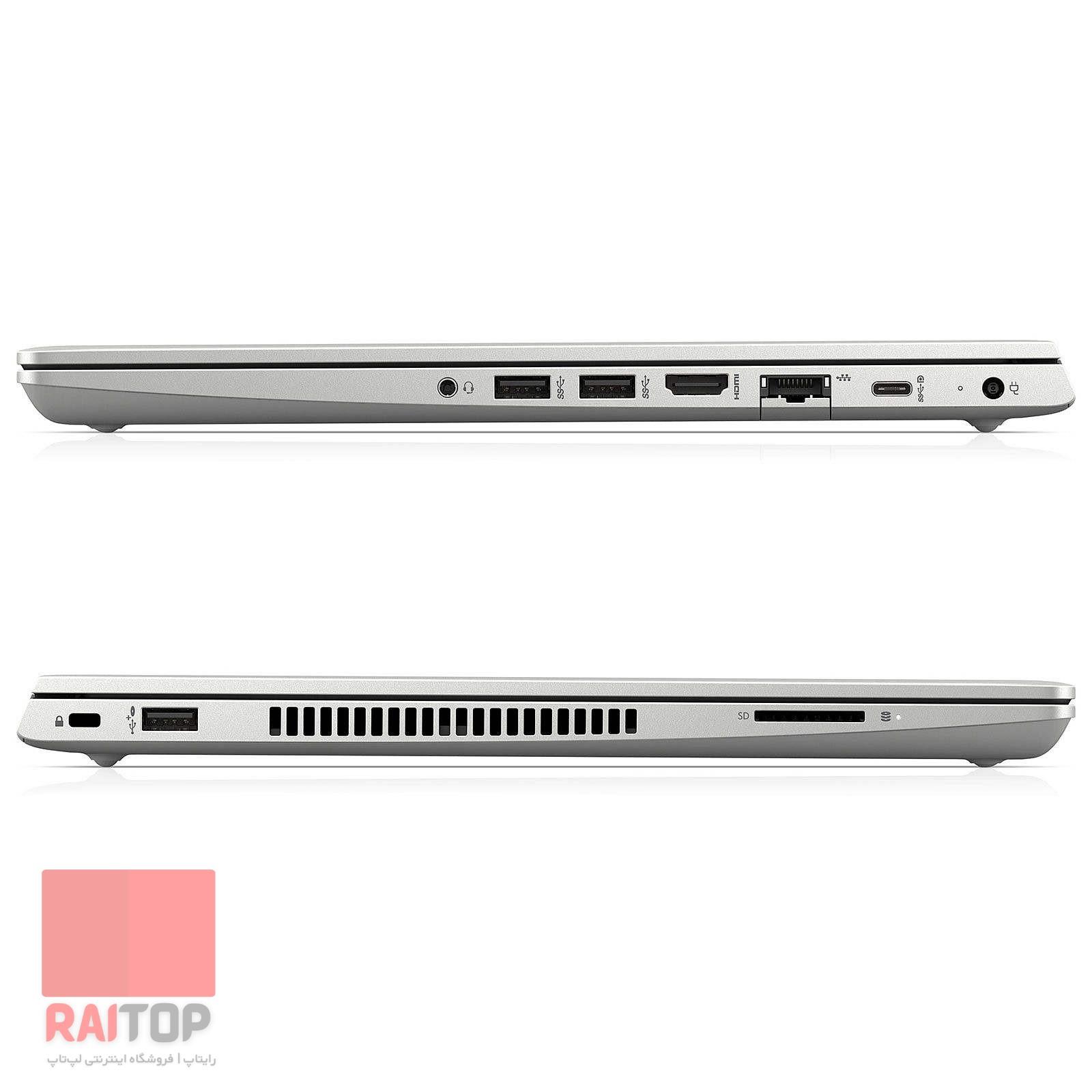 لپتاپ استوک 15 اینچی HP مدل ProBook 450 G6 پورت ها